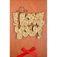 Product Wooden card #7