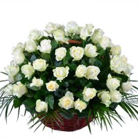 Bouquet Epics 75 White Roses