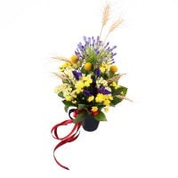 «Ukrainian woman» bouquet with delivery