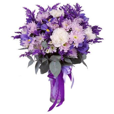 Buy sparkling and bright bouquet with the same day delivery
