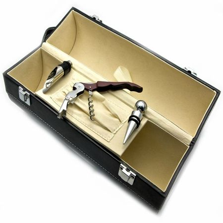 To buy case for two bottles with the sommelier set