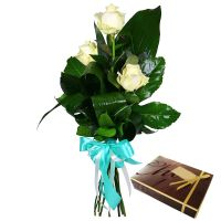 Bouquet �ulse + candies as a gift
