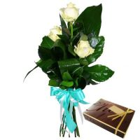 Bouquet Impulse + box of chocolates (wholesale)
