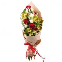 Order the bouquet «Sincerity of love» with delivery to any chosen city of the country and the world.