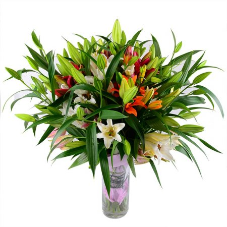 Bouquet With lilies