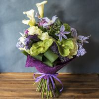 Order amazing bouquet «Casablanca» in our online shop