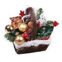 Product Christmas Basket of Dried Fruits