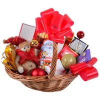 Product Basket with presents