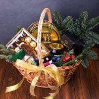 Product Gift basket «Winter enchantment»