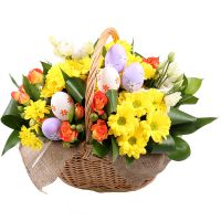 Bouquet Easter Basket