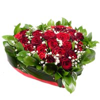 Bouquet Red heart