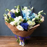 Order the bouquet «Azure coast» in our online shop. Delivery!