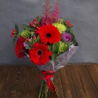 Order bouquet «Poppy embraces» in our online shop. Delivery!