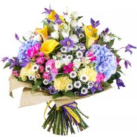 Order the bouquet «A tune of colors» in our online shop. Delivery!