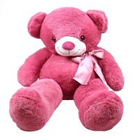Teddy bear pink 90 cm | buy with delivery