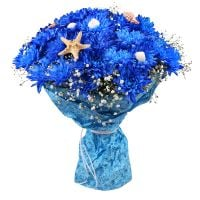 Buy summer bouquet �Sea Breeze� with the best delivery