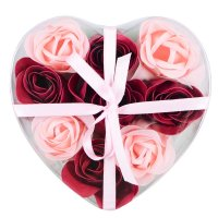 Product Soap Rose in heart shape