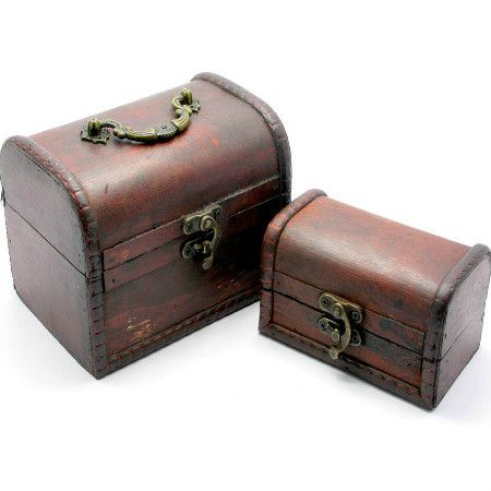 To buy a set of wooden chests ''Antiques''