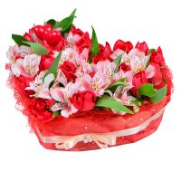 Buy bouquet «Tender heart» with delivery