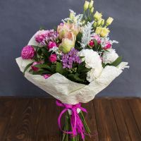 Order beautiful bouquet «Tenderness in words» in our online shop