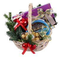 Order a basket «New Year's Gift» with international delivery