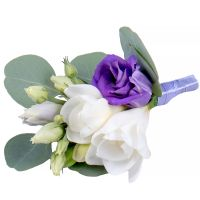 Order beautiful boutonniere «Tender palette» in the internet shop with delivery