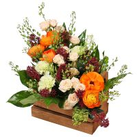 Order the bouquet «Reverence» for your loved ones in the internet-shop UA-Flowers.com.
