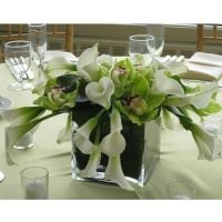 Bouquet Wedding table arrangement