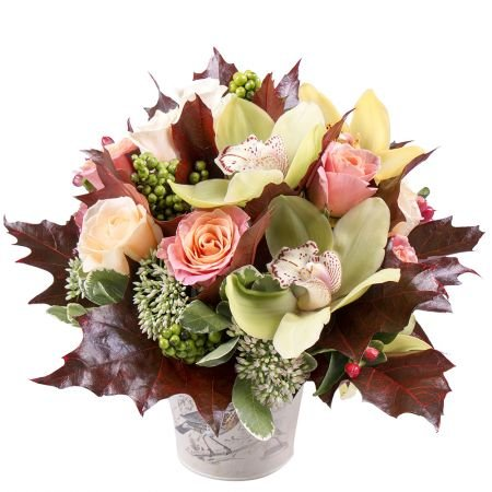 Buy unusual bouquet «Colors of September» with delivery to any city!