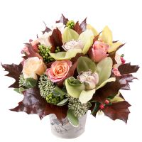 Buy unusual bouquet �Colors of September� with delivery to any city!