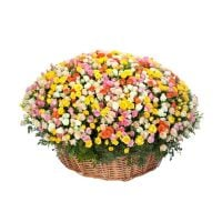 Bouquet Flower basket