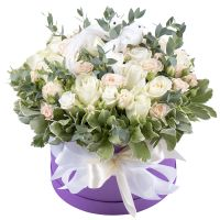 Order bouquet «Cloud lightness» with delivery