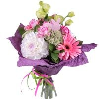 Buy tender bouquet «Floral nymph» for girl. With delivery.