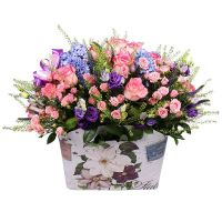 Order beautiful bouquet «Airiness» with delivery in any city