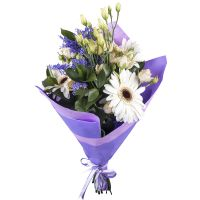 Buy fabulous bouquet �Magic azurite� with delivery to any city