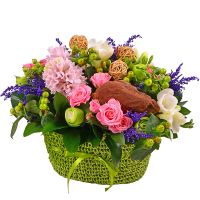 Order flower arrangement «Tender feelings» for February 14