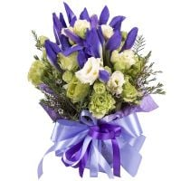 Order the bouquet «Sea spray» in our online shop. Delivery!
