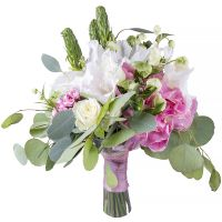 Order romantic bouquet «Beautiful Yuna» in the online-shop. Delivery!