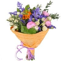 Order beautiful bouquet «Carte blanche» with delivery