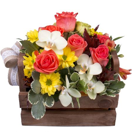 Order the bouquet «Morning waltz» in our online shop. Delivery!