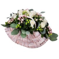 Order tender rose bridal bouquet �Rosita� with delivery