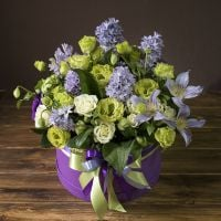 Order the bouquet «Magnificent emerald» in our online shop. Delivery!