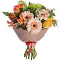 Order a beautiful bouquet �With tenderness� at the internet-shop with delivery