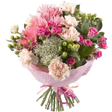 Buy tender bouquet «Charm of the ensemble» with delivery around the world