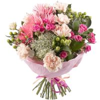 Buy tender bouquet �Charm of the ensemble� with delivery around the world