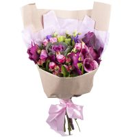 Order alluring bouquet «Riot tenderness» with delivery to any point of the world