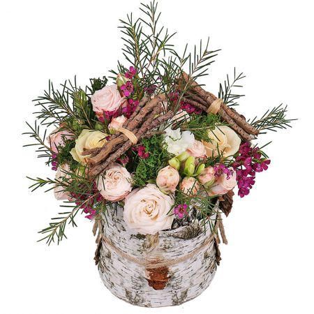 Buy unusual bouquet «Birch luxury» in the internet-shop with delivery