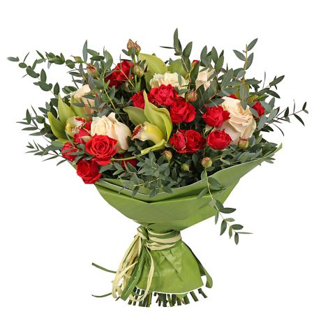 Order luxurious bouquet «Roses Juliet» with quick delivery to any city of the world.