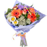 Order original bouquet «Pearl surprise» with delivery to any corner of the world
