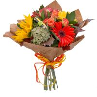 Order beautiful bouquet «Autumn marathon» with delivery to any city